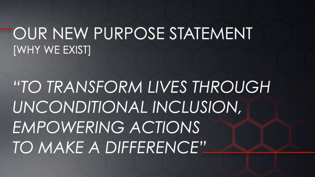 Our New Purpose Statement