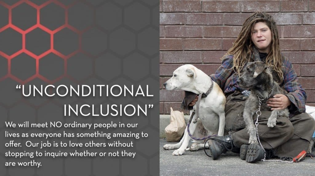 Unconditional Inclusion